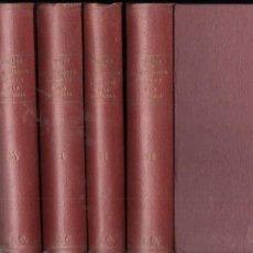 Libros antiguos: DOCTOR CABANÉS : EL GABINETE SECRETO DE LA HISTORIA - 4 TOMOS (MERCURIO, 1927). Lote 146255366