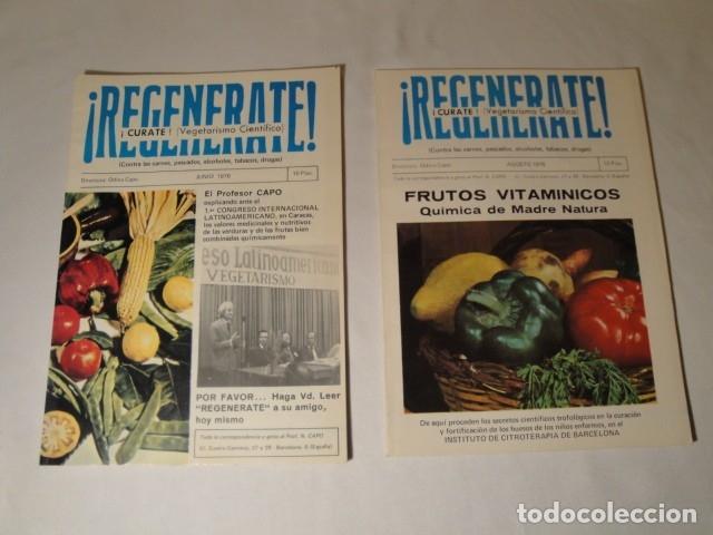 Libros antiguos: Revistas:REGENÉRATE,Director: N. Capo.Enero-Febrero- Marzo-Abril-Mayo-Junio-Agosto y Septiembre 1976 - Foto 5 - 145351106