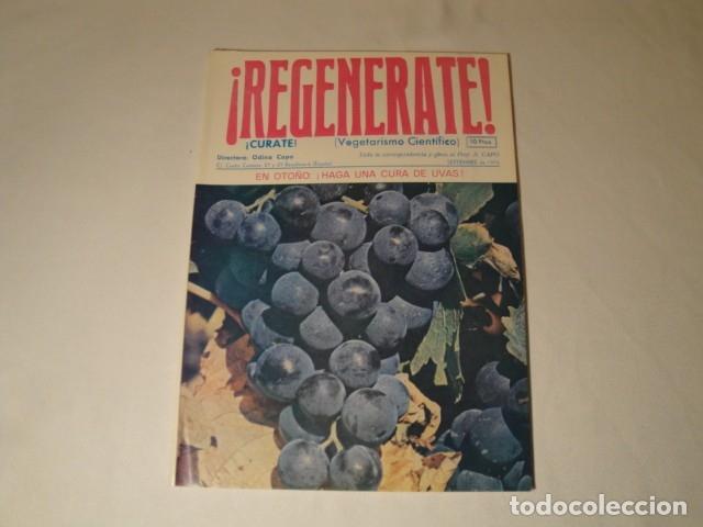 Libros antiguos: Revistas:REGENÉRATE,Director: N. Capo.Enero-Febrero- Marzo-Abril-Mayo-Junio-Agosto y Septiembre 1976 - Foto 6 - 145351106
