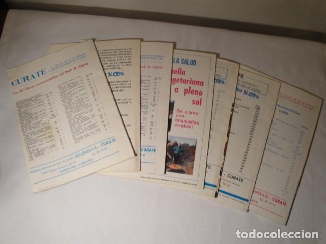 Libros antiguos: Revistas:REGENÉRATE,Director: N. Capo.Enero-Febrero- Marzo-Abril-Mayo-Junio-Agosto y Septiembre 1976 - Foto 7 - 145351106