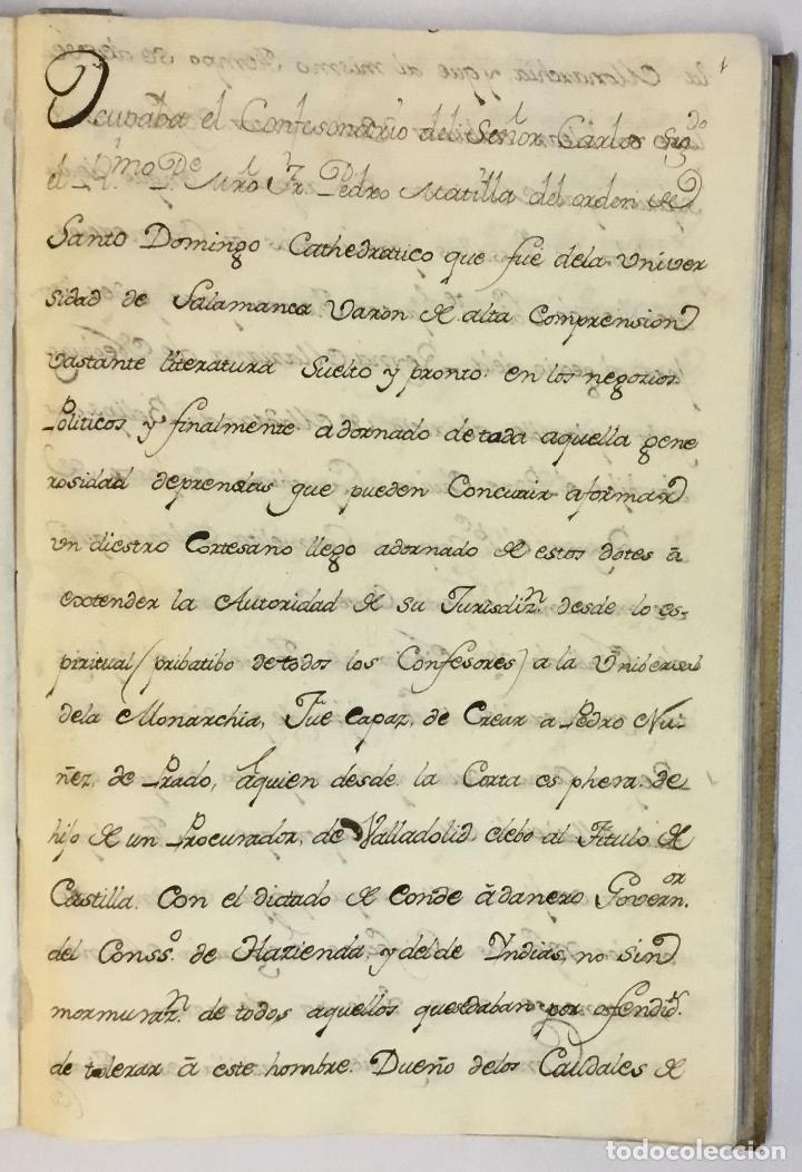 [RELACIÓN SOBRE EL PROCESO CONTRA FRAY FROILÁN DÍAZ, CONFESOR DE CARLOS II...] MANUSCRITO (Libros Antiguos, Raros y Curiosos - Historia - Otros)