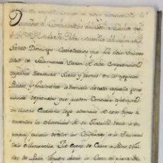 Libros antiguos: [RELACIÓN SOBRE EL PROCESO CONTRA FRAY FROILÁN DÍAZ, CONFESOR DE CARLOS II...] MANUSCRITO. Lote 146401774