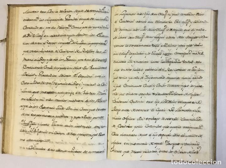 Libros antiguos: [RELACIÓN SOBRE EL PROCESO CONTRA FRAY FROILÁN DÍAZ, CONFESOR DE CARLOS II...] MANUSCRITO - Foto 2 - 146401774