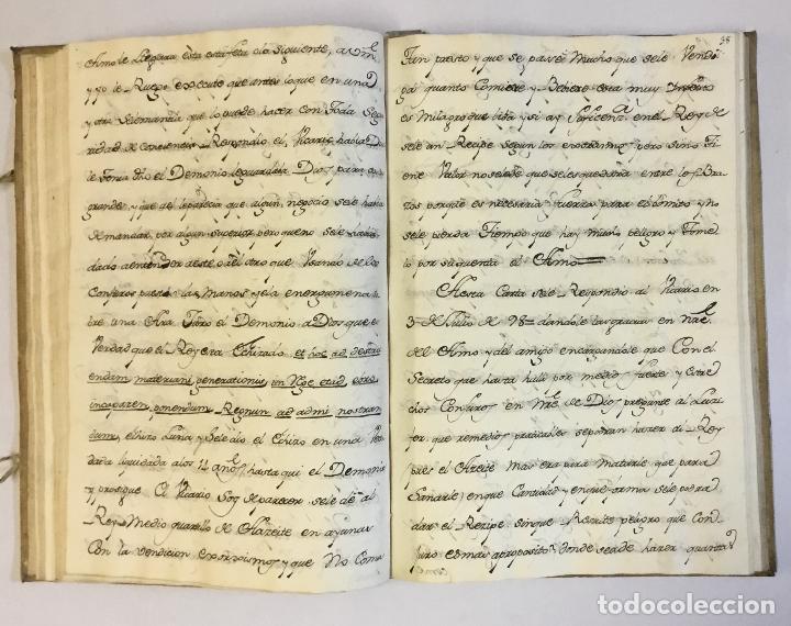 Libros antiguos: [RELACIÓN SOBRE EL PROCESO CONTRA FRAY FROILÁN DÍAZ, CONFESOR DE CARLOS II...] MANUSCRITO - Foto 4 - 146401774