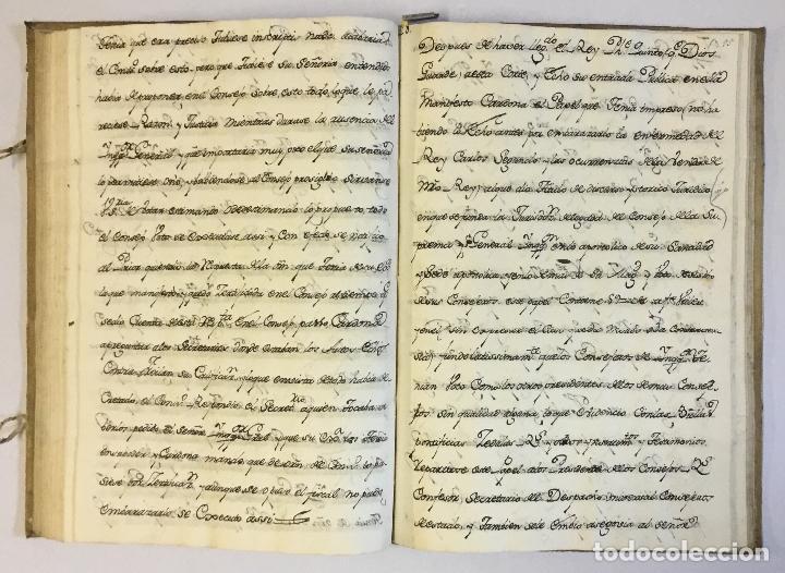 Libros antiguos: [RELACIÓN SOBRE EL PROCESO CONTRA FRAY FROILÁN DÍAZ, CONFESOR DE CARLOS II...] MANUSCRITO - Foto 5 - 146401774