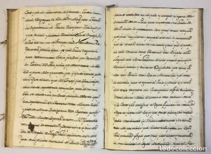 Libros antiguos: [RELACIÓN SOBRE EL PROCESO CONTRA FRAY FROILÁN DÍAZ, CONFESOR DE CARLOS II...] MANUSCRITO - Foto 6 - 146401774