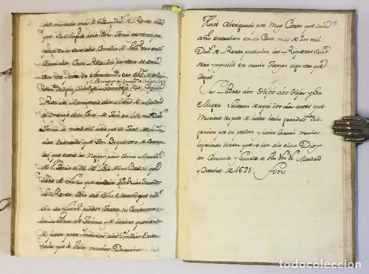 Libros antiguos: [RELACIÓN SOBRE EL PROCESO CONTRA FRAY FROILÁN DÍAZ, CONFESOR DE CARLOS II...] MANUSCRITO - Foto 7 - 146401774