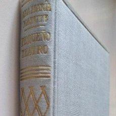 Livros antigos: ANA MARÍA MATUTE: PEQUEÑO TEATRO. PRIMERA EDICIÓN 1954. Lote 146405694