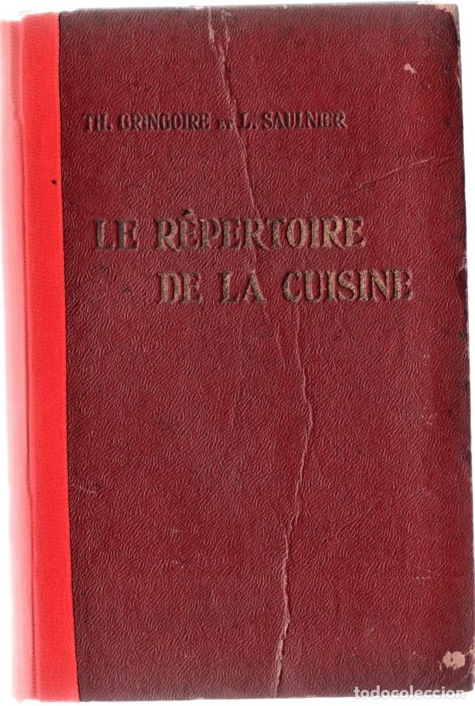 Libros antiguos: ANTIGUO LIBRO COCINA-GASTRONOMIA FRANCESA,AÑO1923,DIRECTORIO DE COCINA,COCINEROS Y CHEFS,7000 PLATOS - Foto 2 - 146437730