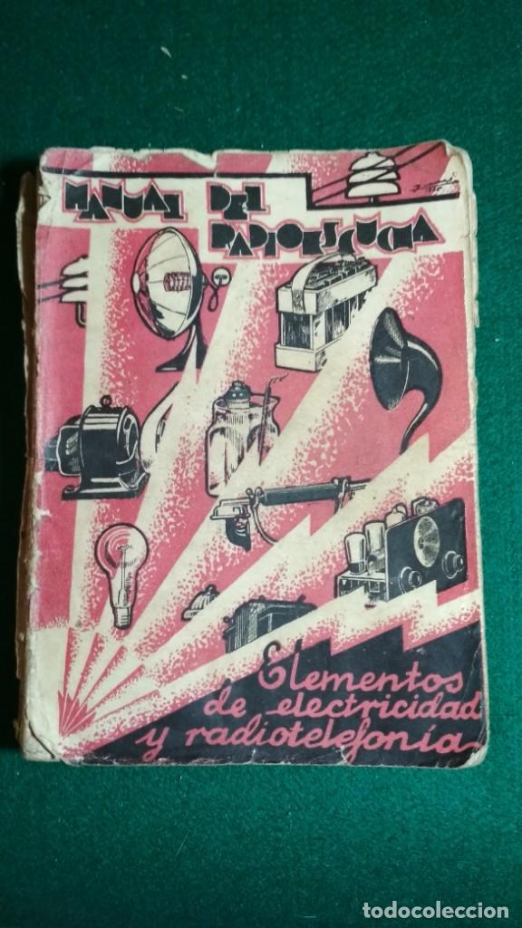 MANUAL DEL RADIOESCUCHA. TOMO I. MARTIN HERNANDEZ GONZALEZ, IMPRENTA CASTELLANA 1935 VER FOTOS (Libros Antiguos, Raros y Curiosos - Ciencias, Manuales y Oficios - Otros)