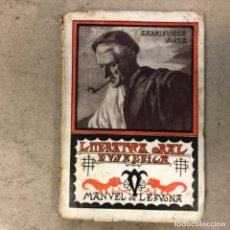 Libros antiguos: LITERATURA ORAL EUSKERIKA POR MANUEL DE LEKUONA. BEÑAT IDAZTIAK EDITOR 1935.. Lote 146536342