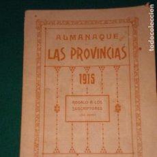 Libros antiguos: ALMANAQUE LAS PROVINCIAS PARA 1915. Lote 146553266