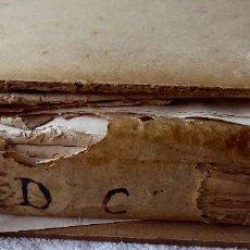 Libros antiguos: TOMO AÑO 1607 CON DOCUMENTOS NOTARIALES DE LA COMARCA DE URGELL (LLEIDA). MAS DE 350 PÁGINAS. LATIN.. Lote 146568938