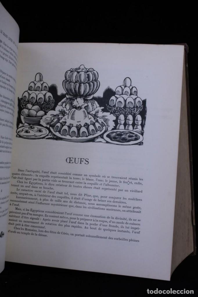 Libros antiguos: EL GRAN LIBRO DE LA COCINA,GASTRONOMIA,AÑO 1929 CHEF Y PERIODISTA PROSPER MONTAGNE,EN FRANCES,RARO - Foto 6 - 146584338