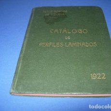 Libros antiguos: CATÁLOGO DE PÈRFILES LAMINADO. Lote 146595722