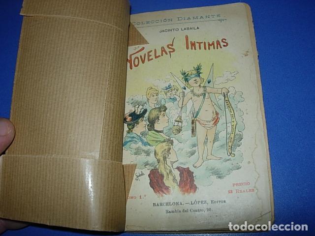 LABAILA, JACINTO: NOVELAS ÍNTIMAS. TOMO 1 (Libros Antiguos, Raros y Curiosos - Pensamiento - Otros)