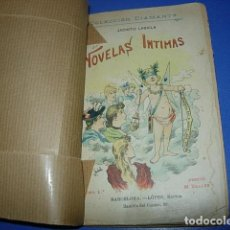 Libros antiguos: LABAILA, JACINTO: NOVELAS ÍNTIMAS. TOMO 1. Lote 146596566