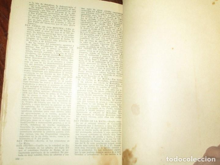 Libros antiguos: ciccionario enciclopedico de toledo libro antiguo luis moreno - Foto 5 - 146602734