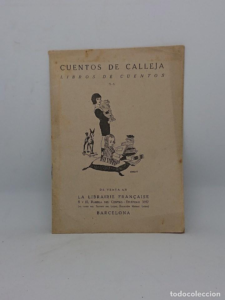 CUENTOS DE CALLEJA , REVISTA INFORMATIVA DE CUENTOS PUBLICADOS O POR PUBLICAR (Libros Antiguos, Raros y Curiosos - Literatura Infantil y Juvenil - Otros)