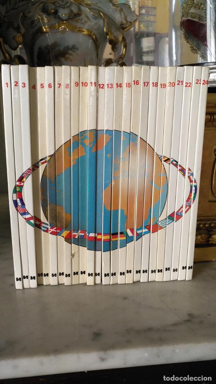 Libros antiguos: VEN A CONOCER EL MUNDO Y TODOS SUS PAISES ¡ COMPLETA 24 NUMEROS ! NUEVA LENTE - Foto 2 - 146736978