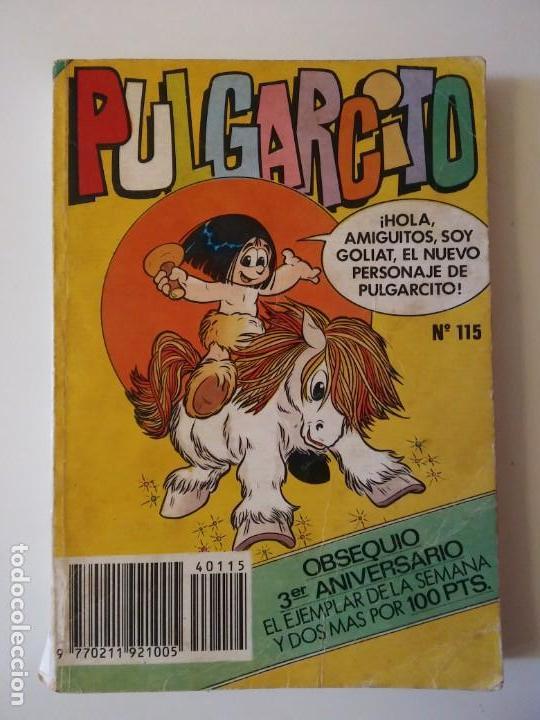 Libros antiguos: Pulgarcito-BRUGUERA Editorial-Año1983-3 tebeos en uno-N.115 - Foto 2 - 146748886