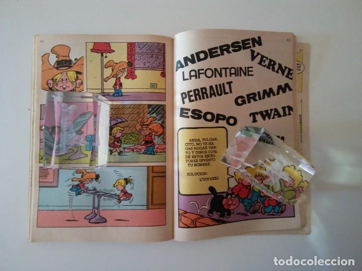 Libros antiguos: Pulgarcito-BRUGUERA Editorial-Año1983-3 tebeos en uno-N.115 - Foto 19 - 146748886