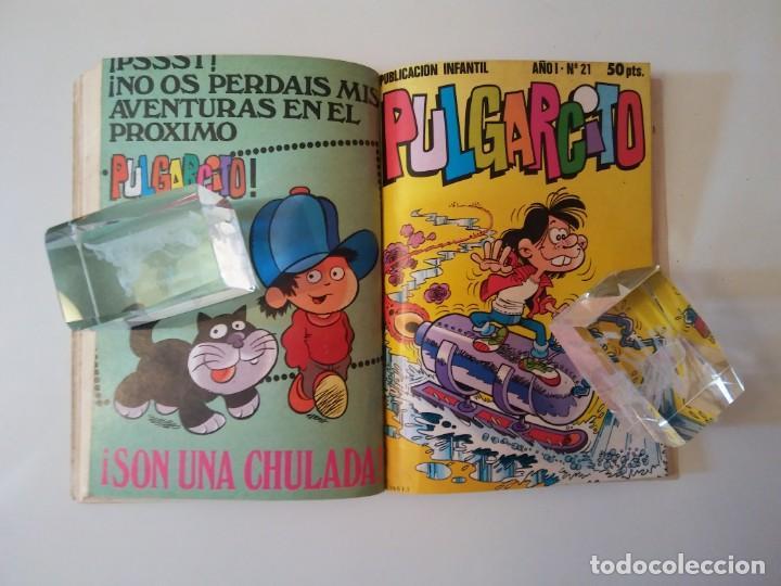 Libros antiguos: Pulgarcito-BRUGUERA Editorial-Año1983-3 tebeos en uno-N.115 - Foto 26 - 146748886