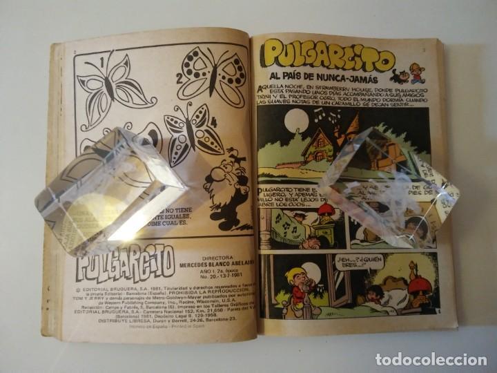 Libros antiguos: Pulgarcito-BRUGUERA Editorial-Año1983-3 tebeos en uno-N.115 - Foto 60 - 146748886