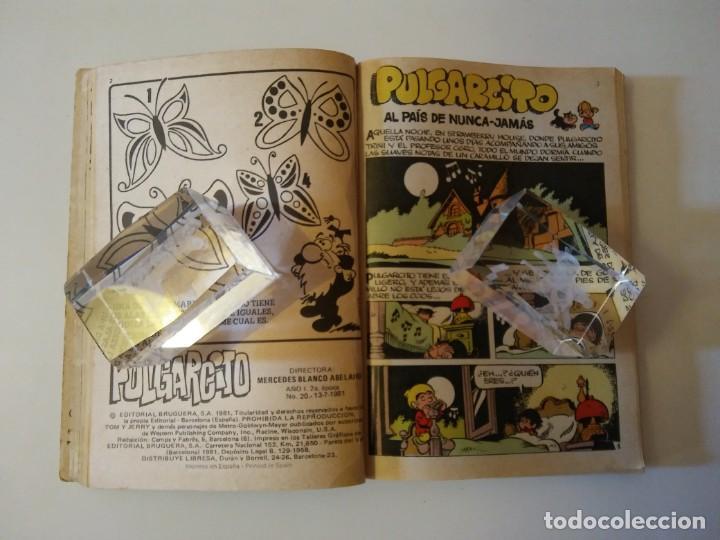 Libros antiguos: Pulgarcito-BRUGUERA Editorial-Año1983-3 tebeos en uno-N.115 - Foto 61 - 146748886