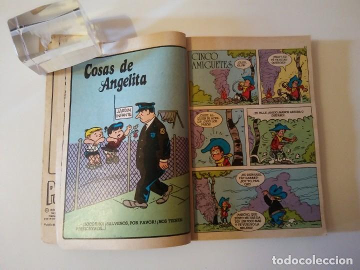 Libros antiguos: Pulgarcito-BRUGUERA Editorial-Año1983-3 tebeos en uno-N.115 - Foto 76 - 146748886