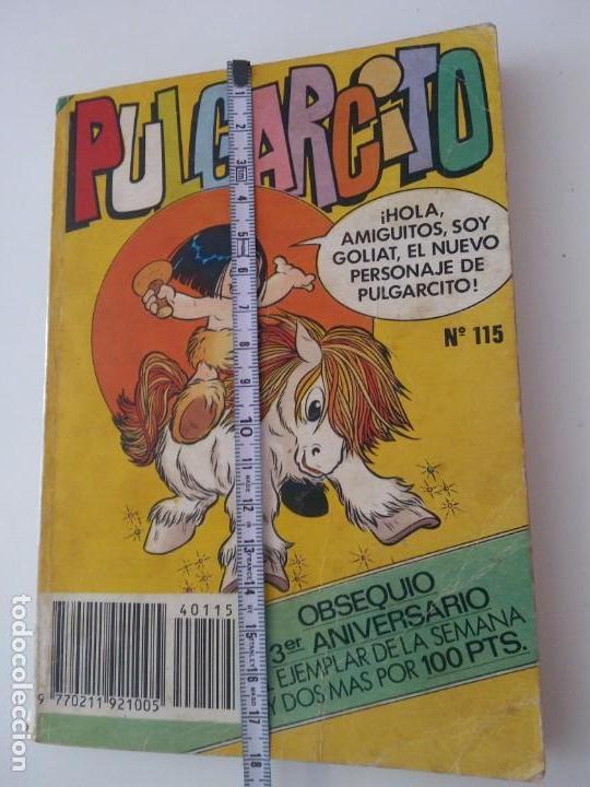 PULGARCITO-BRUGUERA EDITORIAL-AÑO1983-3 TEBEOS EN UNO-N.115 (Libros Antiguos, Raros y Curiosos - Literatura Infantil y Juvenil - Otros)