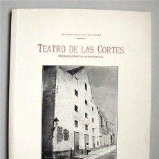 Alte Bücher - Facsímil. Teatro de las Cortes (San Fernando) Monografía histórica. Cádiz 1910. Edición facsímil - 146772990