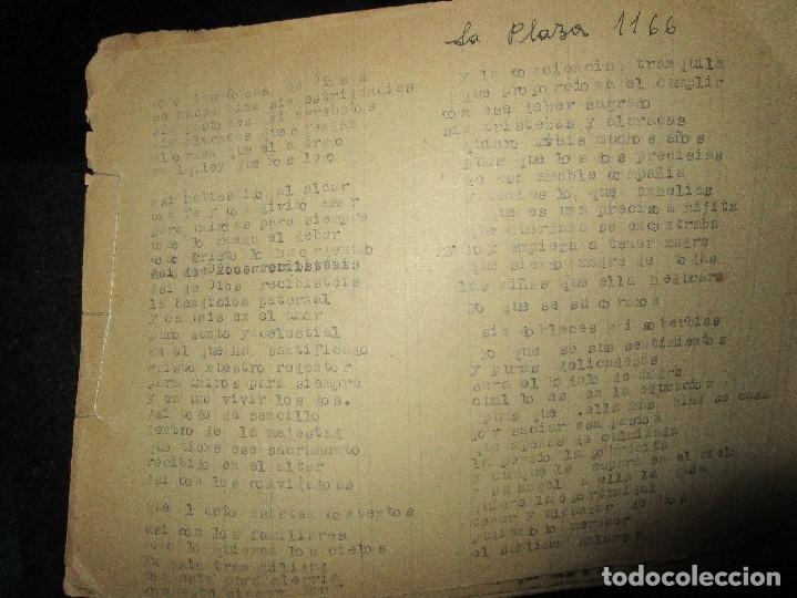 Libros antiguos: LA PLAZA LIBRO ORIGINAL inedito sobre alcantarilla religion escuelas 86 PGS CARLOS HERREROS MUÑOZ - Foto 3 - 146812946