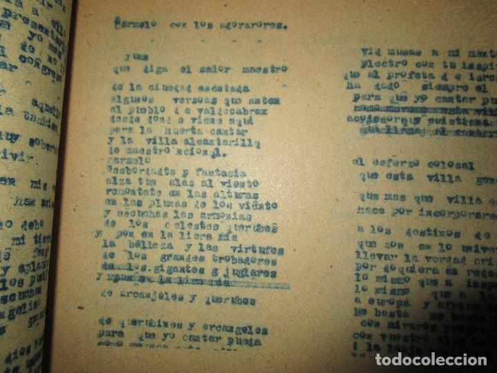Libros antiguos: LA PLAZA LIBRO ORIGINAL inedito sobre alcantarilla religion escuelas 86 PGS CARLOS HERREROS MUÑOZ - Foto 2 - 146812946