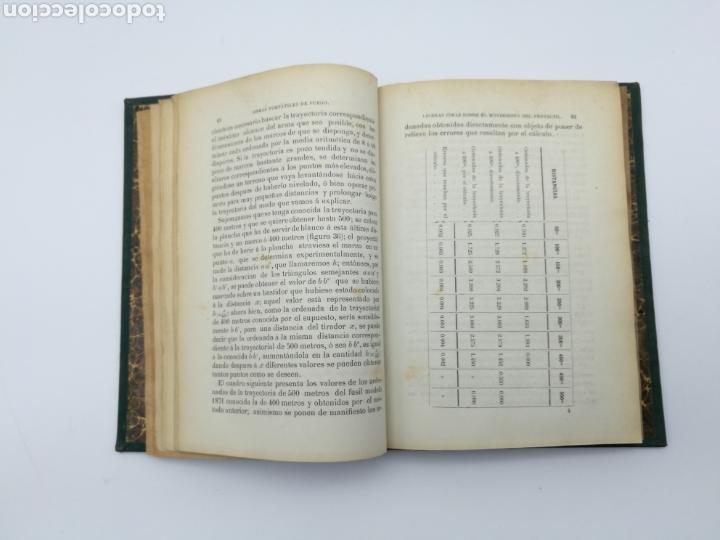 Libros antiguos: armas portatiles de fuego estudios elementales 1881 Manuel Cano con laminas desplegables. - Foto 4 - 146914866