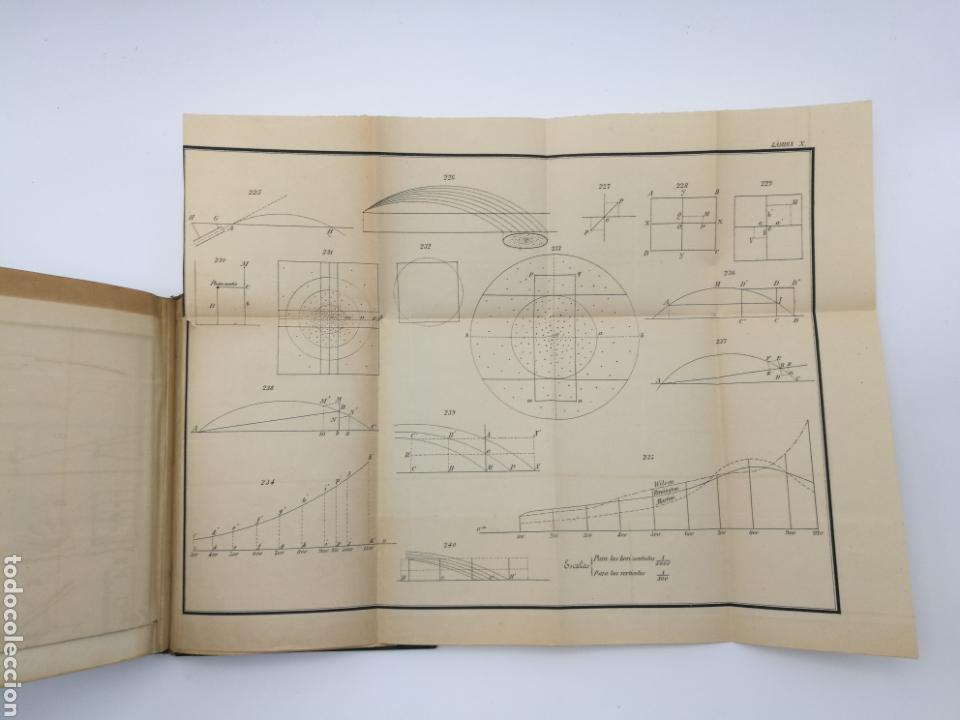 Libros antiguos: armas portatiles de fuego estudios elementales 1881 Manuel Cano con laminas desplegables. - Foto 6 - 146914866