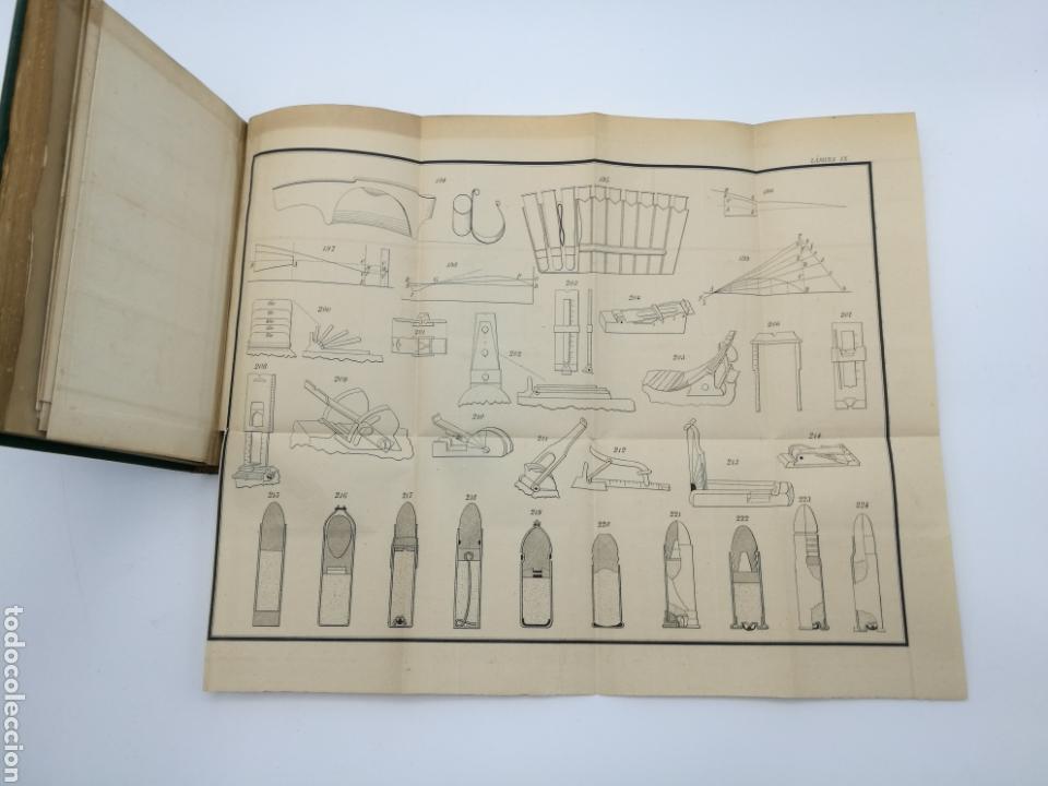 Libros antiguos: armas portatiles de fuego estudios elementales 1881 Manuel Cano con laminas desplegables. - Foto 7 - 146914866