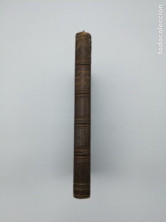 ARMAS PORTATILES DE FUEGO ESTUDIOS ELEMENTALES 1881 MANUEL CANO CON LAMINAS DESPLEGABLES. (Libros Antiguos, Raros y Curiosos - Historia - Otros)