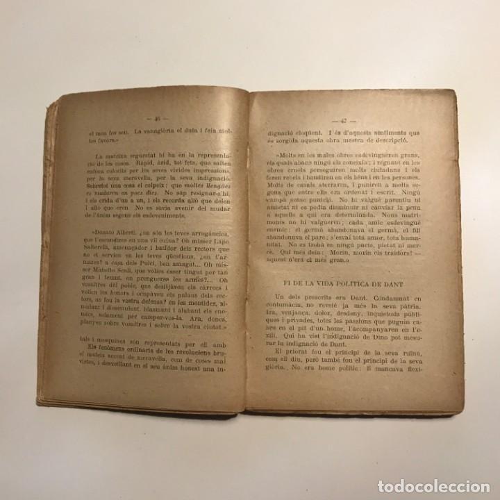 Libros antiguos: CRITICA DE LA DIVINA COMEDIA JOSEP MARIA CAPDEVILA 1921 - Foto 2 - 146943186