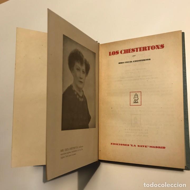 Libros antiguos: los chestertons - Foto 2 - 146943470