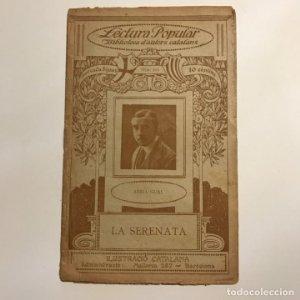 Lectura Popular: Biblioteca d'autors catalans: ADRIÀ GUAL. LA SERENATA