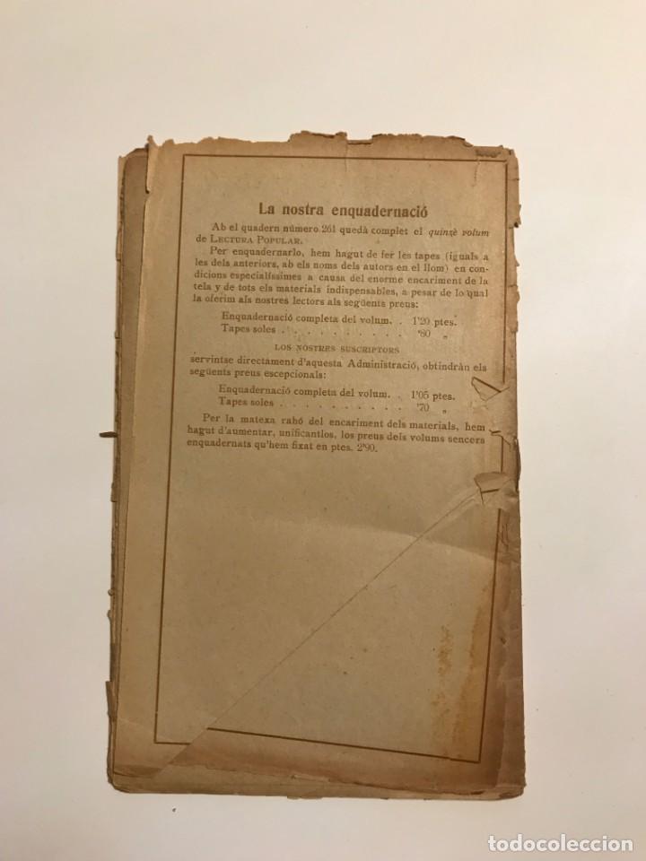 Libros antiguos: Lectura Popular: Biblioteca dautors catalans: Dels meus varals. Pere Vayreda - Foto 4 - 146956122