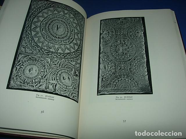 Alte Bücher: HISPANIC LACE AND LACE MAKING -LIBRO SOBRE ENCAJES ANTIGUOS ESPAÑOLES - Foto 2 - 146992142