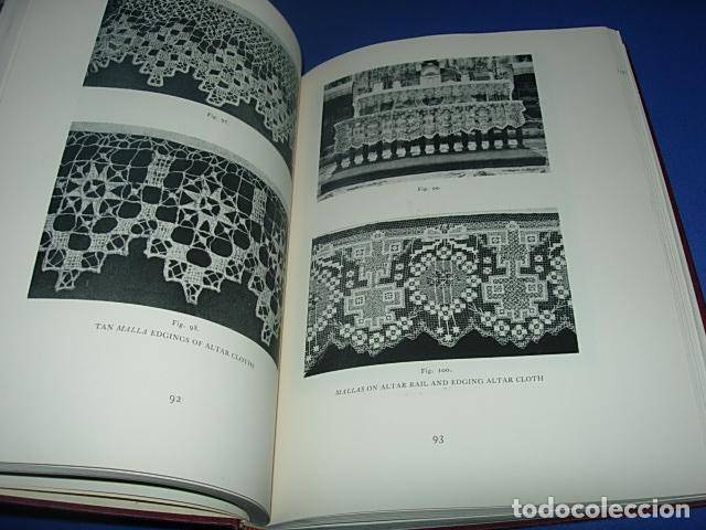 Alte Bücher: HISPANIC LACE AND LACE MAKING -LIBRO SOBRE ENCAJES ANTIGUOS ESPAÑOLES - Foto 4 - 146992142