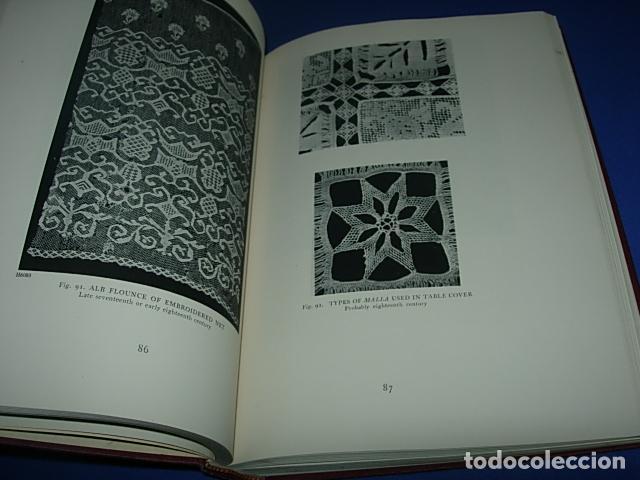 Alte Bücher: HISPANIC LACE AND LACE MAKING -LIBRO SOBRE ENCAJES ANTIGUOS ESPAÑOLES - Foto 5 - 146992142