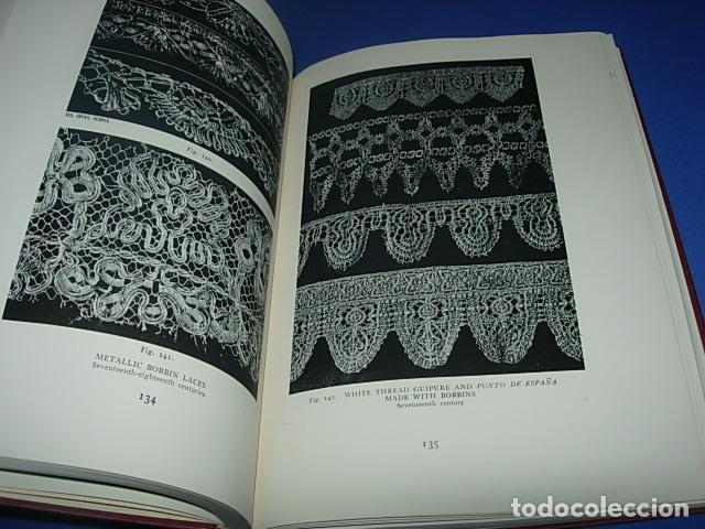 Alte Bücher: HISPANIC LACE AND LACE MAKING -LIBRO SOBRE ENCAJES ANTIGUOS ESPAÑOLES - Foto 6 - 146992142