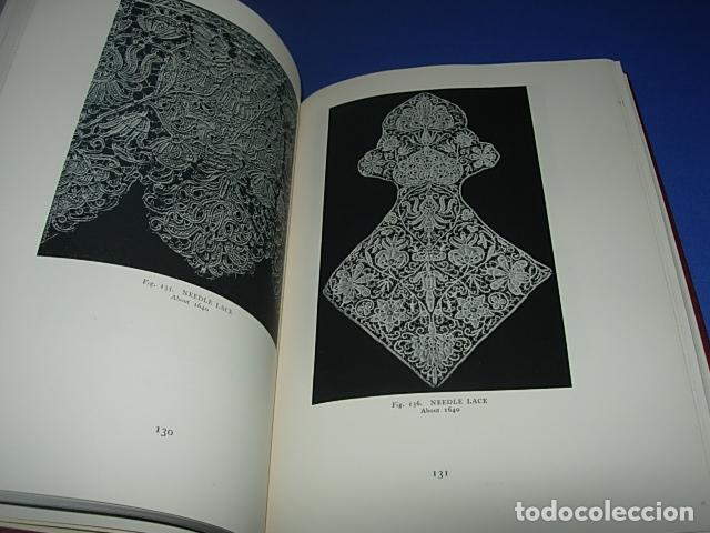Alte Bücher: HISPANIC LACE AND LACE MAKING -LIBRO SOBRE ENCAJES ANTIGUOS ESPAÑOLES - Foto 7 - 146992142