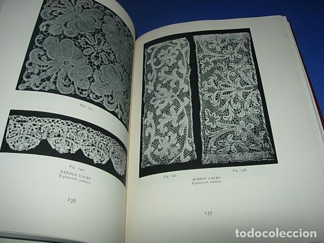 Alte Bücher: HISPANIC LACE AND LACE MAKING -LIBRO SOBRE ENCAJES ANTIGUOS ESPAÑOLES - Foto 10 - 146992142