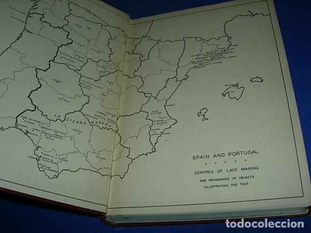 Alte Bücher: HISPANIC LACE AND LACE MAKING -LIBRO SOBRE ENCAJES ANTIGUOS ESPAÑOLES - Foto 11 - 146992142