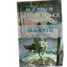 Libros antiguos: JUEGO DE TRONOS - CANCIÓN DE HIELO Y FUEGO 1 - TAPA BLANDA. Lote 147012566